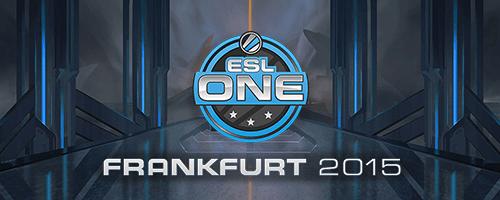 esl one frankfurt 2015 dota 2