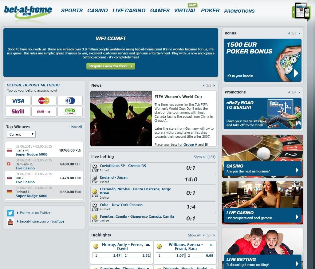 bet at home esports Screenshot