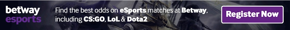 Betway great esports odds