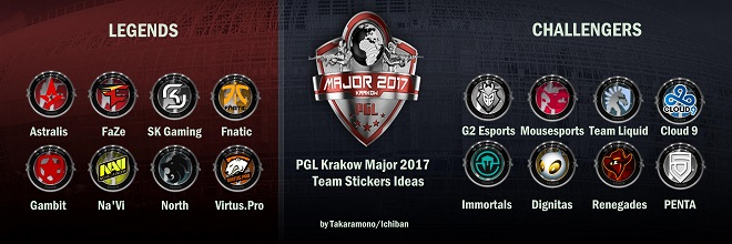 participants pgl major krakow 2017