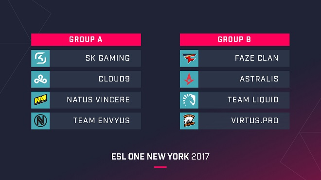 teams players esl one new york 2017