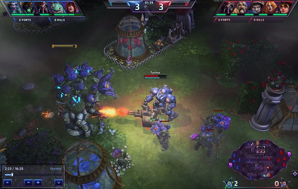 gameplay image heroes of the storm