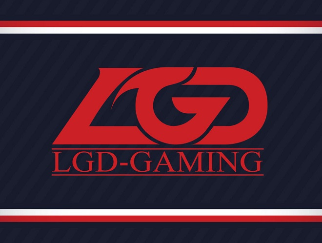 lgd gaming esports team 2018