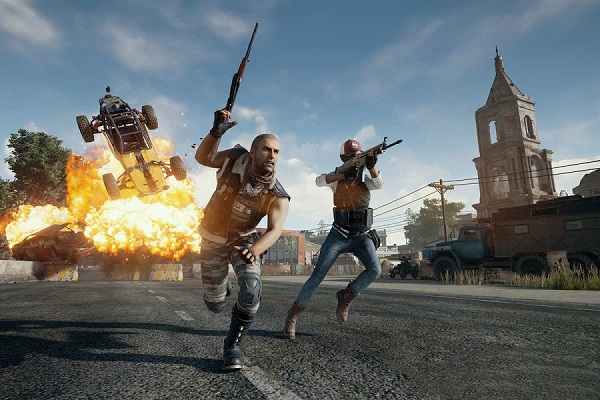 pubg in game screenshot