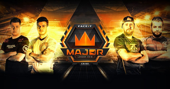 FACEIT Major 2018 betting