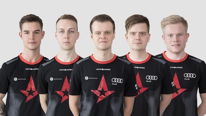 Astralis-Roster 2018