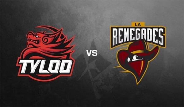 Tyloo vs Renegades StarSeries & i-League Season 7