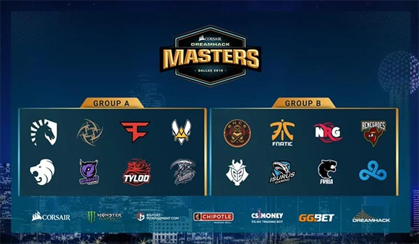 DreamHack Masters Dallas 2019 Betting Preview and Guide