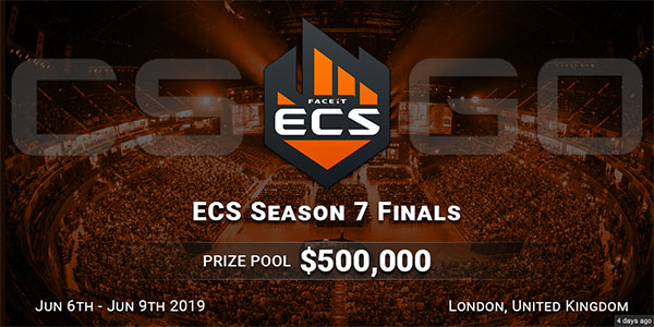 ECS Season 7 Finals June 2019 London FaceIT